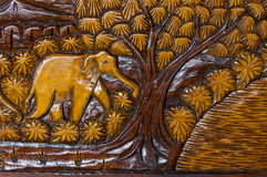 Siamesisches geschnitzt Stockbilder