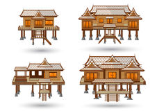 Siamesisches Haus Stockbild