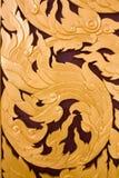 Siamesisches Kunstmuster Stockbild