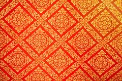 Siamesisches Muster Stockfoto