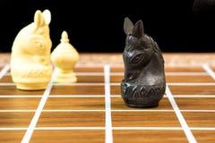 Siamesisches Schach Lizenzfreie Stockfotos