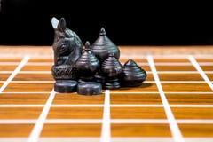 Siamesisches Schach Stockbild
