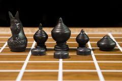 Siamesisches Schach Lizenzfreies Stockbild