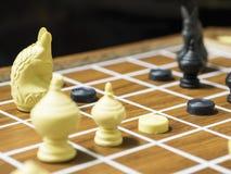 Siamesisches Schach Stockbilder