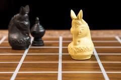 Siamesisches Schach Stockfoto