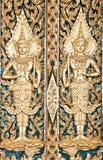 Siamesisches strukturiertes Gatter bei Wat Sirisaotong Lizenzfreie Stockfotos
