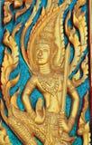 Siamesisches Tempel-Fenster Lizenzfreies Stockfoto