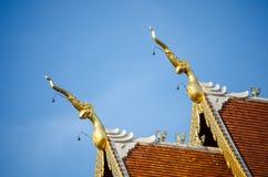 Siamesisches Tempeldach Lizenzfreie Stockfotografie