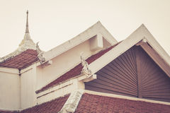 Siamesisches Tempeldach Stockfotos