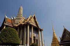 Siamesisches temple_Wat Phra Kaew stockbilder
