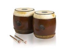 Siamesisches Trommelmusikinstrument Lizenzfreie Stockfotografie