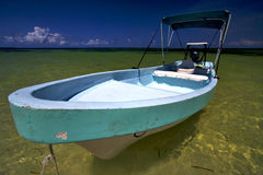 Sian kaan nel Messico e laguna blu Immagini Stock Libere da Diritti