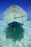Sian kaan und Boot in Mexiko Lizenzfreie Stockbilder