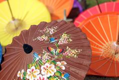 Sian umbrella Royalty Free Stock Photo