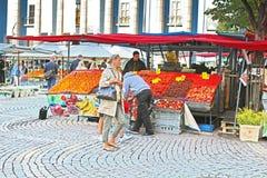 Siano rynek na Hotorget kwadracie, Sztokholm, Szwecja (Hotorget) Zdjęcie Royalty Free