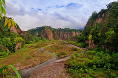 Sianok kanjon Royaltyfri Bild