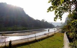 Sianok valley. Sunny day at sianok valley, bukittinggi west sumatra Stock Photography