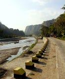 Sianok valley. Sunny day at sianok valley, bukittinggi west sumatra Royalty Free Stock Images
