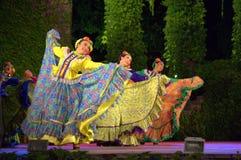Siarczysty Meksykański taniec zdjęcie royalty free