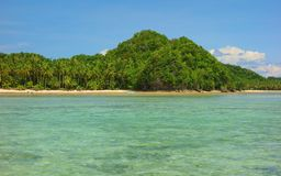 Siargao Coast Stock Photo