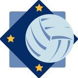 Siatkówka logo Zdjęcia Stock
