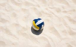 Siatkówka na plaży Zdjęcia Royalty Free