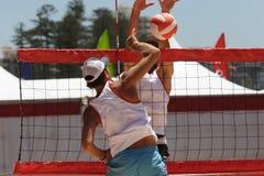 siatkówka plażowa zdjęcie royalty free