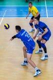 Siatkówki gra Fotografia Stock
