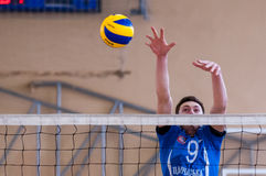 Siatkówki gra Zdjęcie Stock