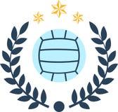 Siatkówki piłka Fotografia Stock