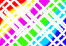 siatka abstrakcjonistyczny kolorowy biel Zdjęcia Stock