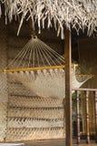 Siatka hamak w Goa, India Zdjęcie Stock