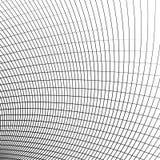 Siatka - siatka dynamiczne wyginać się linie abstrakcyjny geometryczny wzór ilustracji