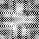 Siatka, siatka, zygzag, zirytowane linie Mozaika jak grill, drażniący półdupki ilustracji