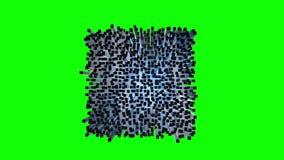 Siatki Wireframe pudełek Wysoki szyk ilustracji