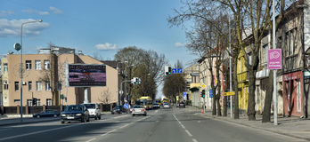 Siauliai city in the Lithuania Stock Images