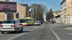 Siauliai city in the Lithuania Royalty Free Stock Photos
