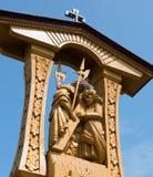 SIAULIAI, LITUÂNIA - 12 DE JULHO DE 2015: O monte das cruzes Fotos de Stock Royalty Free