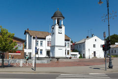 Siauliai stad i Litauen Arkivbilder