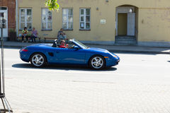 Siauliai stad i Litauen Fotografering för Bildbyråer