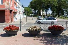 Siauliai stad i Litauen Royaltyfri Bild