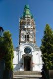 Siauliai stad i Litauen Arkivfoton