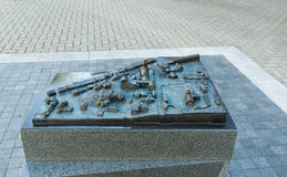 Siauliai stad i Litauen Royaltyfri Foto