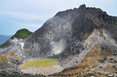 Sibayak volcano Stock Photography