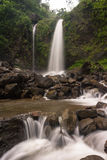Sibeduk waterfall. Petungkriyono pekalongan central java indonesia Stock Photography