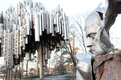 Sibelius Monument Stock Photography