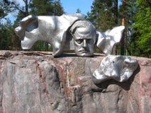 Sibelius Monument in Helsinki stock photos