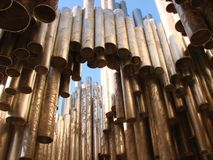 Sibelius Monument Royalty Free Stock Photo