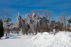 Sibelius monument Royalty Free Stock Image