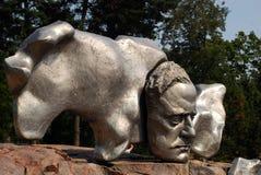 Sibelius-Statue in Helsinki Stockfotografie